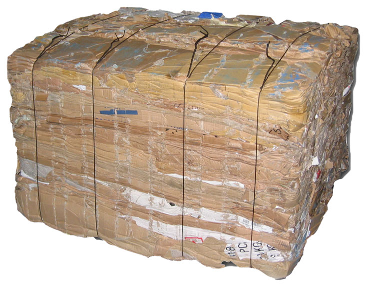 Baled Cardboard Recycling Services